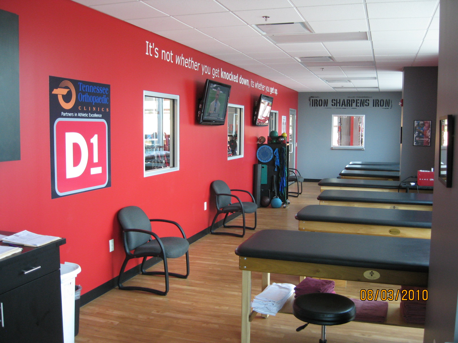 D1 fitness sports training smith gee studio for Interior design schools in knoxville tn