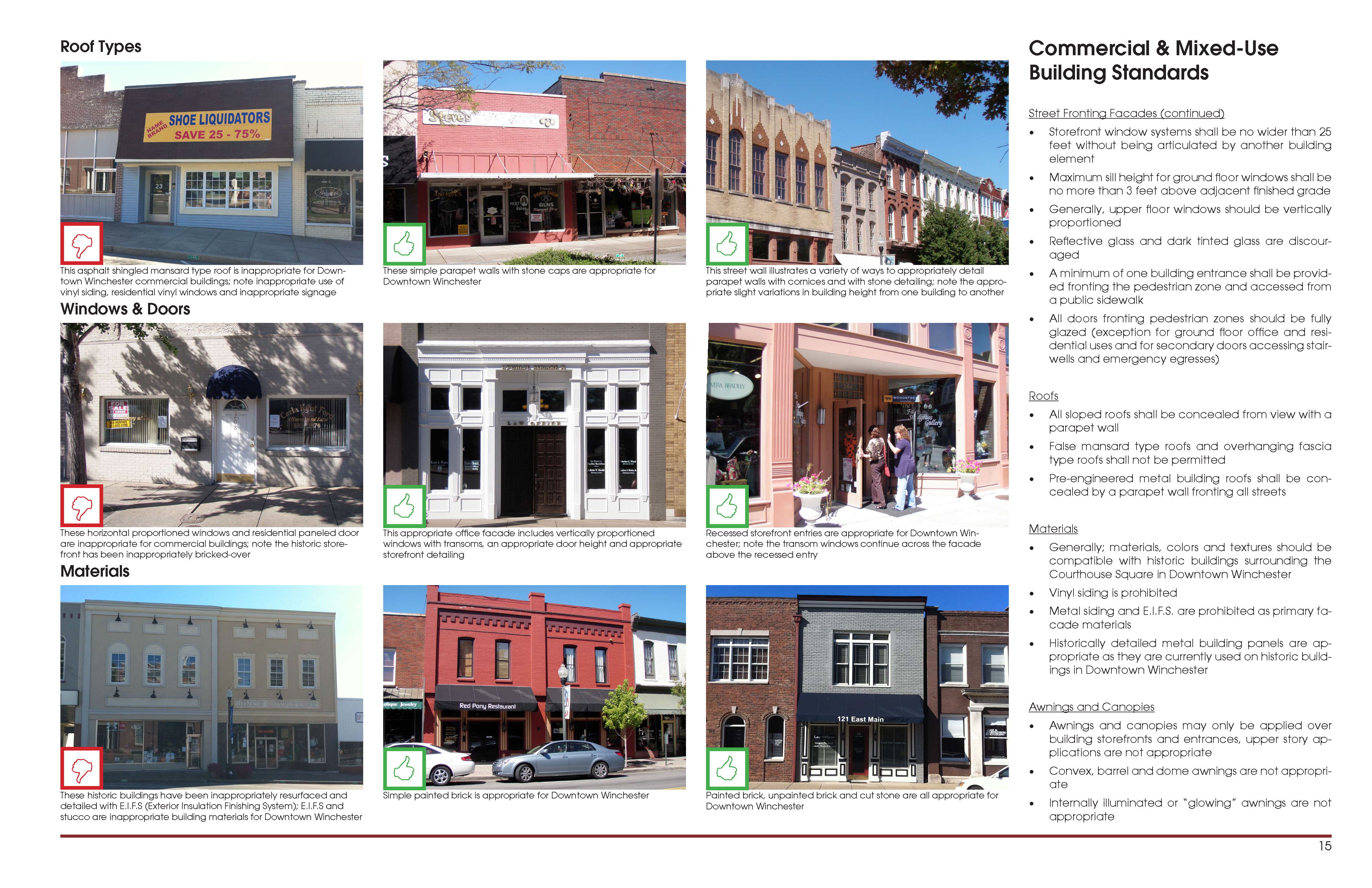 downtown winchester design guidelines smith gee studio