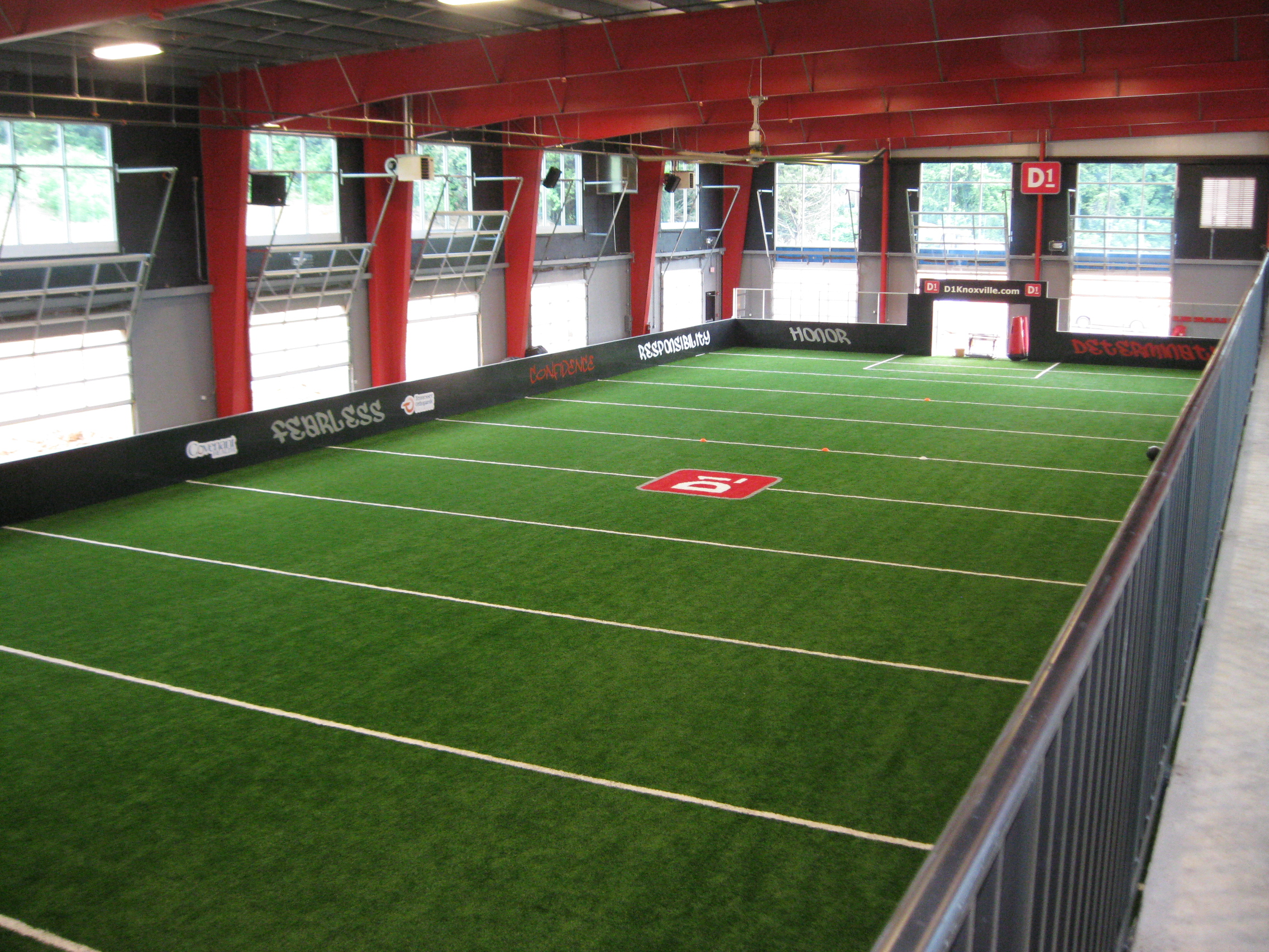 D1 fitness sports training smith gee studio for Indoor facility design