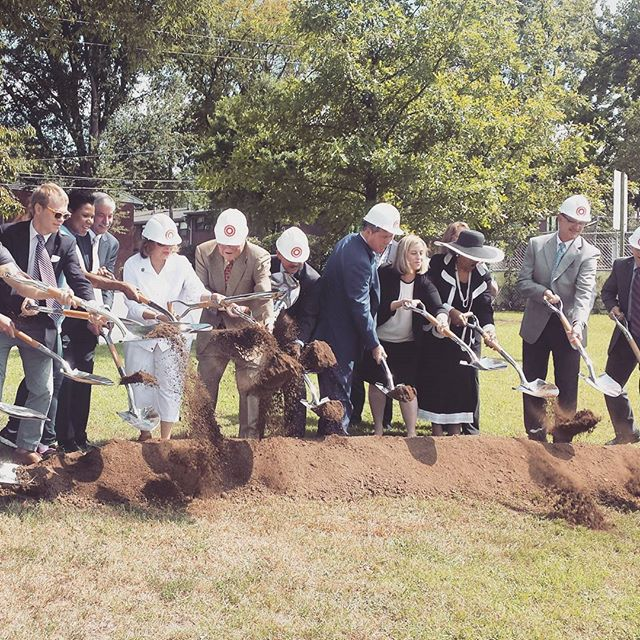 Yesterday SGS was excited to be on hand for the groundbreaking of Cayce Place. It's so rewarding to see the Envision Cayce plan coming to life. #Nashville #cityplanning